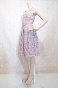 ドレスショップ大阪(ミニ丈花柄刺繍ドレス)